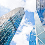 Office skyscraper buildings Stock Photos
