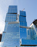Office skyscrapper. In the Moscow city Royalty Free Stock Image