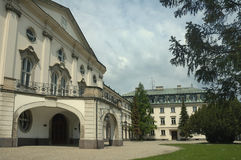 Summer residence of archbishop of Ostroh Stock Photo