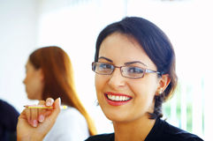 Office smile Stock Photography