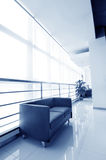 Office of the sofa and corridors Stock Images
