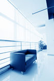 Office of the sofa and corridors Stock Photo