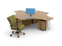 Office space Royalty Free Stock Photography