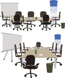 Office space to discuss working ideas Royalty Free Stock Photography
