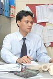 Office staff worker Stock Image