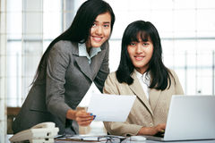 Office staffs working in the office Stock Photos