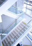 Office stair,from a public area Stock Photography
