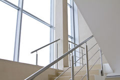 Office staircase Royalty Free Stock Images