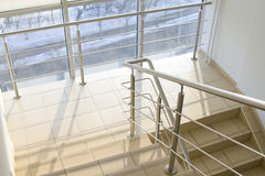 Office staircase Royalty Free Stock Image