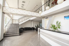 Office staircase Stock Images