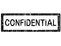 Office Stamp - CONFIDENTIAL Royalty Free Stock Photo