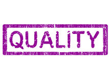 Office Stamp - QUALITY Royalty Free Stock Photos