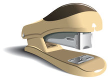 Office stapler. Perspective view, photo-realistic vector illustration Royalty Free Stock Image