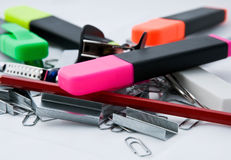 Office stationary Stock Photo