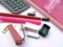 Office Stationary Stock Image