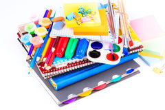 Office stationary. Back to school concept Royalty Free Stock Image