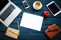 Office stationary Royalty Free Stock Images