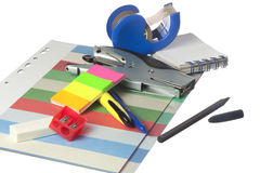 Office stationery Royalty Free Stock Photo