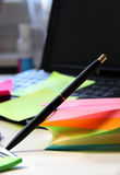 Office stationery Stock Images