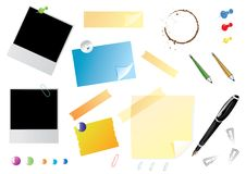 Office stationery Royalty Free Stock Photos