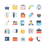 Office and Stationery Vector Icons 4 Royalty Free Stock Photography