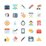 Office and Stationery Vector Icons 4 Stock Photo