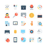 Office and Stationery Vector Icons 2 Royalty Free Stock Images