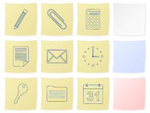 Office sticker Royalty Free Stock Images