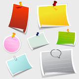 Office sticker Royalty Free Stock Photos