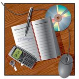 Office still life Stock Images