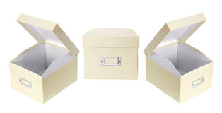 Office Storage Boxes Royalty Free Stock Image