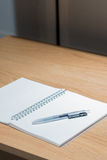 Office Study Desktop with Various Stationary Accessories Royalty Free Stock Photo