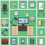 Office stuff Royalty Free Stock Photo