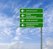 Office suite Royalty Free Stock Photos