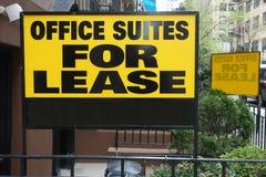 Office Suiten für Miete Stockfoto