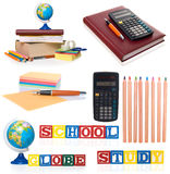 Office Supplies Royalty Free Stock Photo
