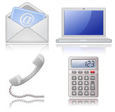 Office supplies royalty free illustration