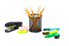 Office supplies Royalty Free Stock Photos