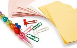 Office supplies Stock Photos
