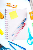 Office supplies Royalty Free Stock Images