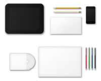 Office Supplies for Designers Presentations and Portfolios. Stock Photography