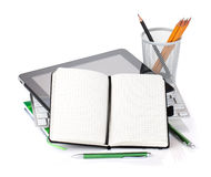 Office supplies and gadgets Royalty Free Stock Image
