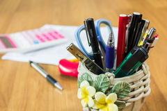 Office supplies. Royalty Free Stock Photography