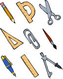 Office supplies Royalty Free Stock Photography