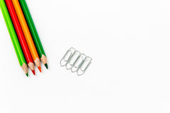 Office or school supplies Royalty Free Stock Image