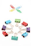 Office supply. On white background Royalty Free Stock Photo