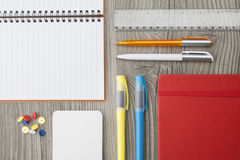 Office supply collection Stock Image