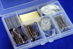 An office supply utility box Royalty Free Stock Image