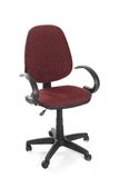 Office swivel chair. Against white background Royalty Free Stock Image