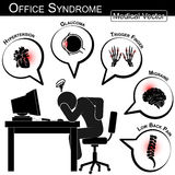 Office Syndrome Stock Photography